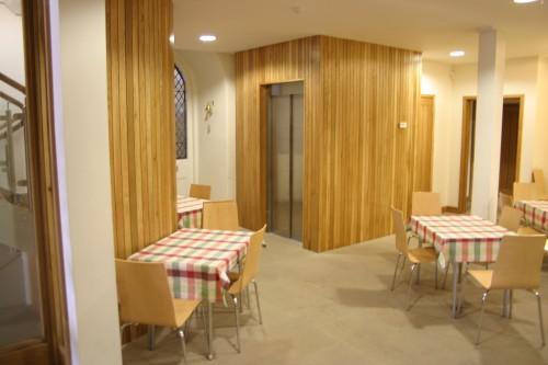 The interior of our Café.