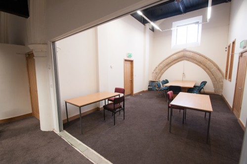 The interior of our St Oswald room.